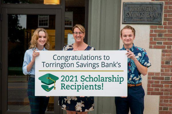 TSB CEO congratulates two scholarshi recipients